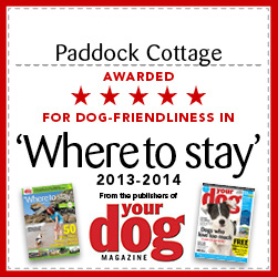 paddock cottage 5 star rating