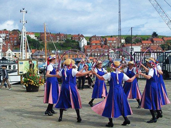 Dancers at Whitby Folk Week Photo