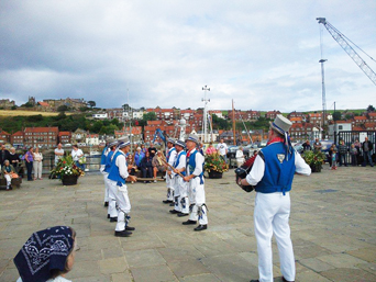 Morris Dancers at Whitby Folk Week Photo