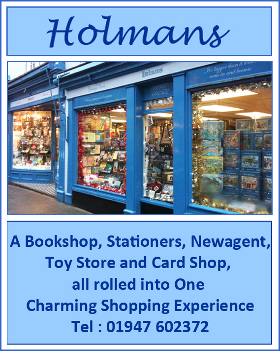 Holmans Bookshop, Whitby UK