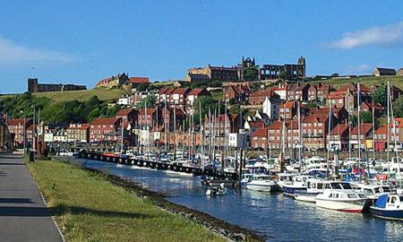 Whitby Marina, UK