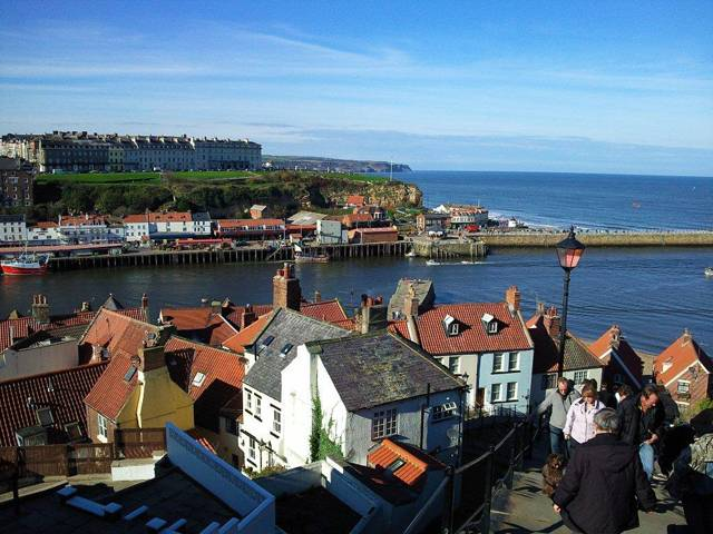 Whitby UK 199 Steps photograph