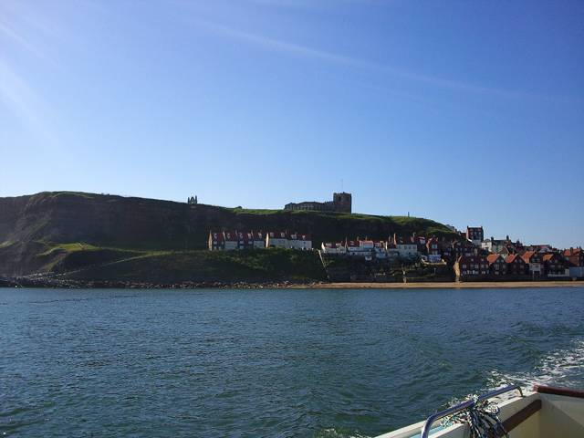 Whitby UK from the Sea photograph