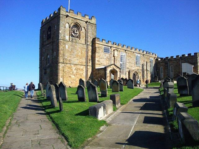 St Mary's Church, Whitby UK photograph
