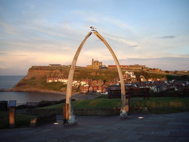 Whitby Whale Bones photograph