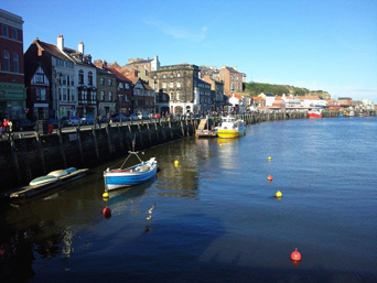 Whitby Harbour and Pier Roa Photo