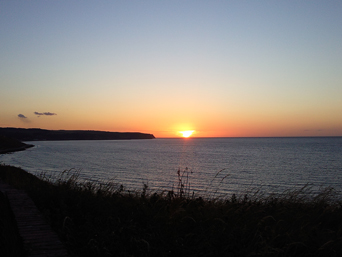 West Cliff Sunset Photo