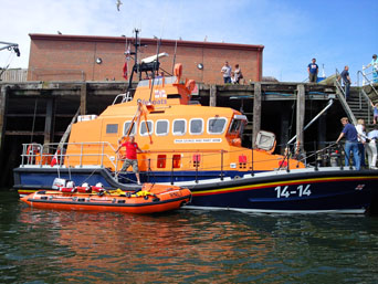 Whitby Lifeboat Photo