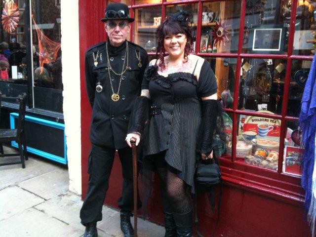 Photo of Gothic couple on Church Street