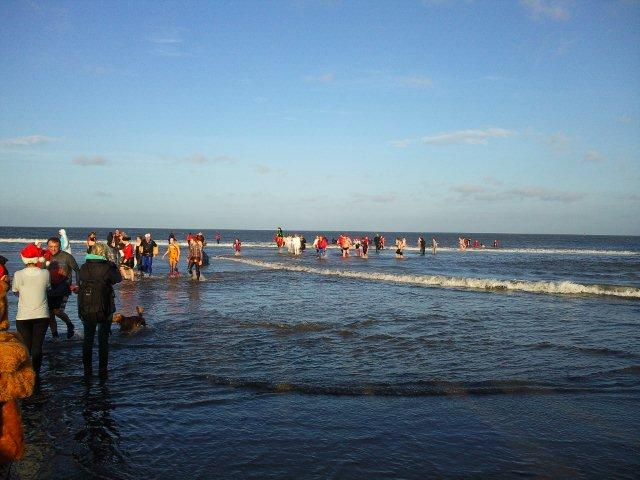Photo of Boxing Day Dippers 2011