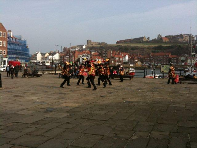 Photo of Morris Dancers in Spring in Whitby