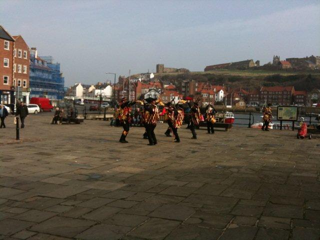 Photo of Morris Dancers in the Springtime in Whitby
