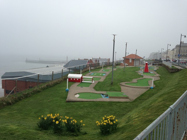 photo of crazy golf