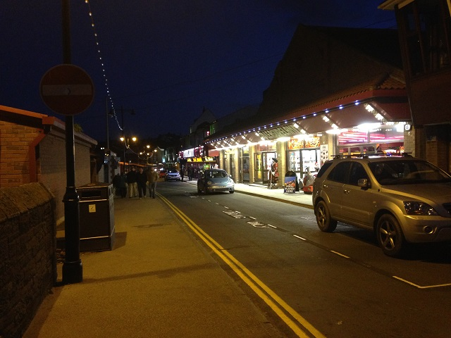 photo of Pier Road on a night