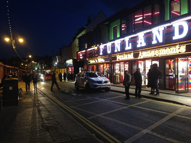 photo of Pier Road on an evening