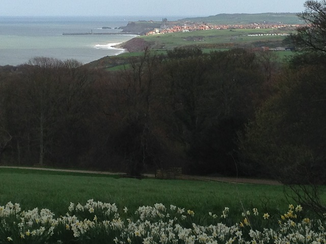 photo of the view toward Whitby
