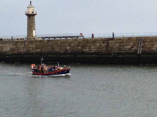photo of the  old lifeboat