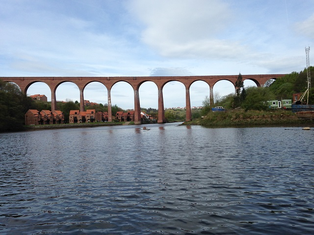 photo of the viaduct