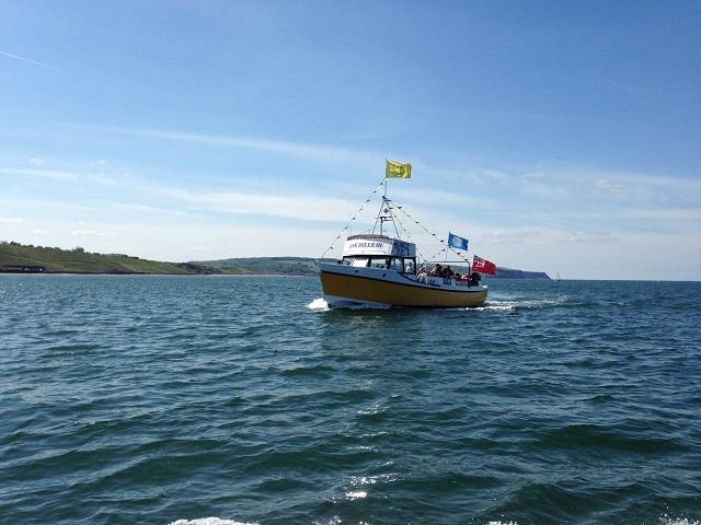 photo of a pleasure boat