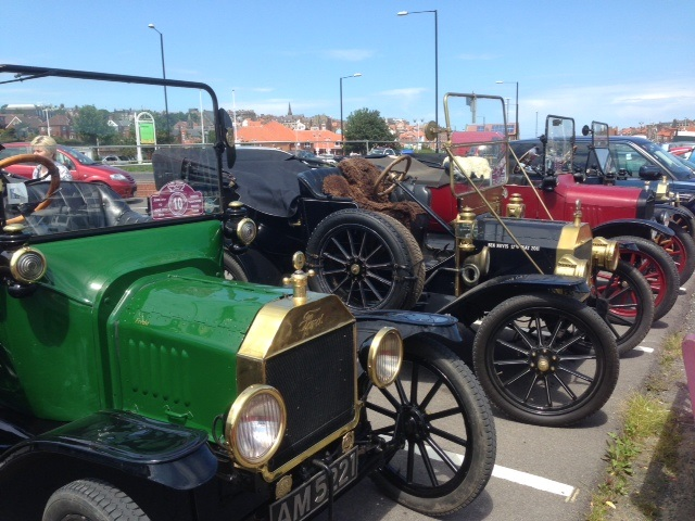 photo of Model T Fords