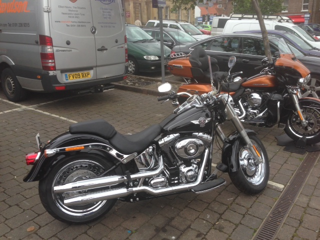 photo of a Harley Davidson
