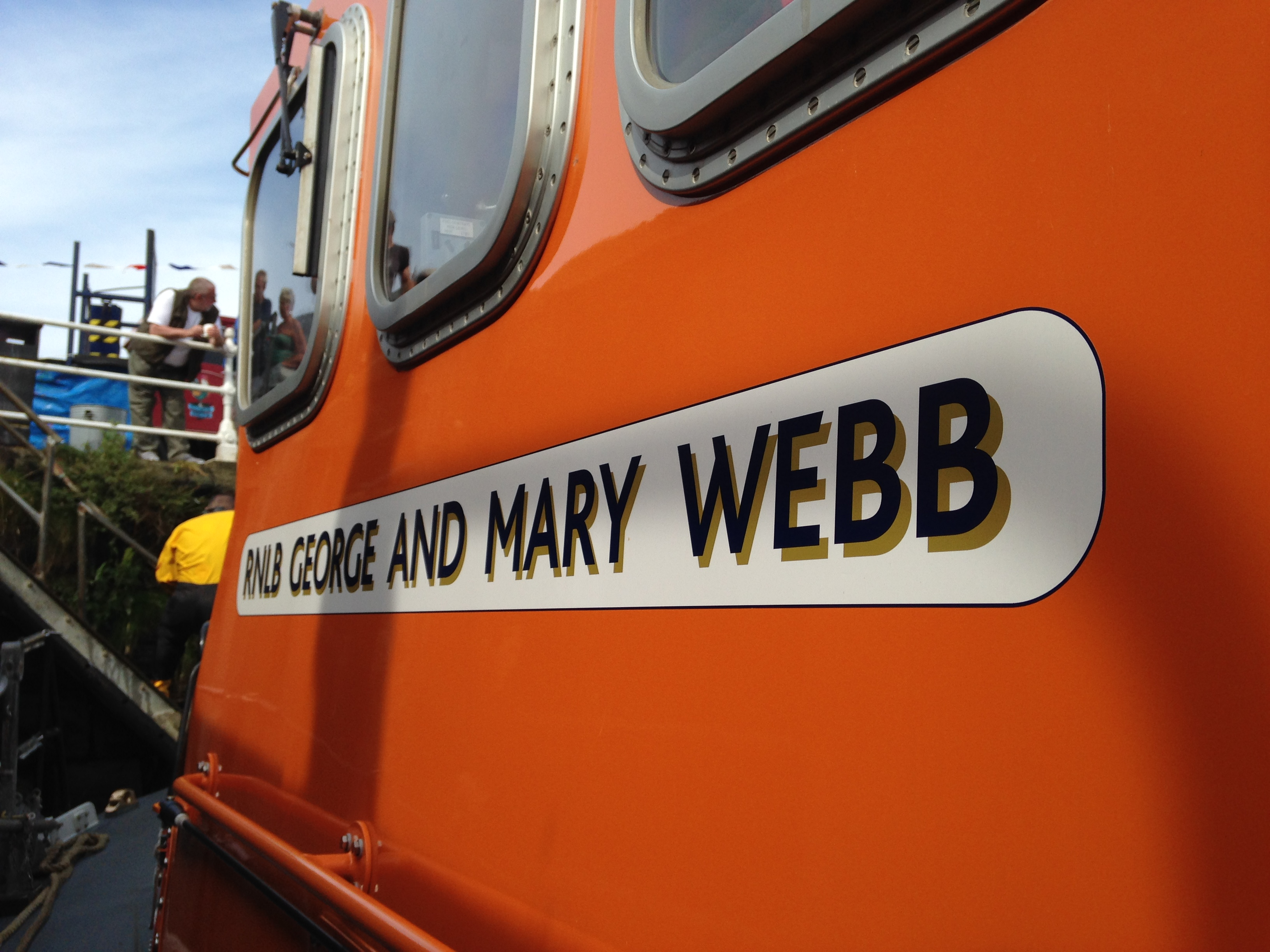 photo of the RNLI George and Mary Webb