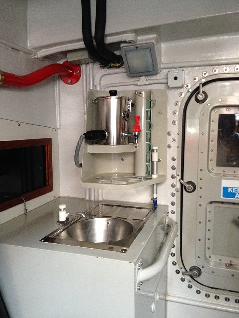 photo of the galley