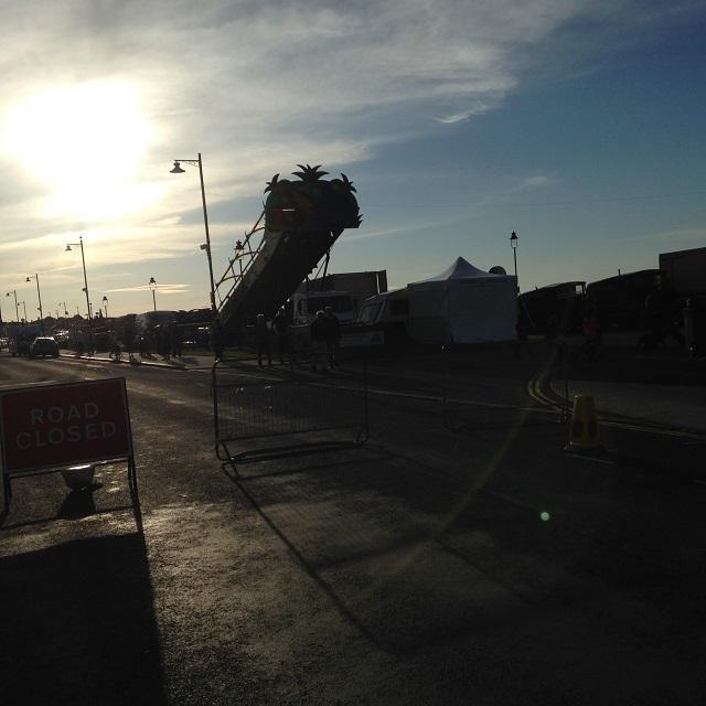photo of bouncy castle