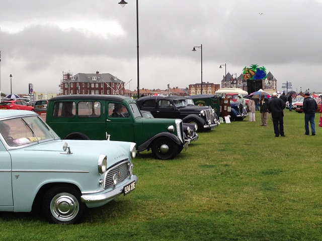 photo of vintage cars