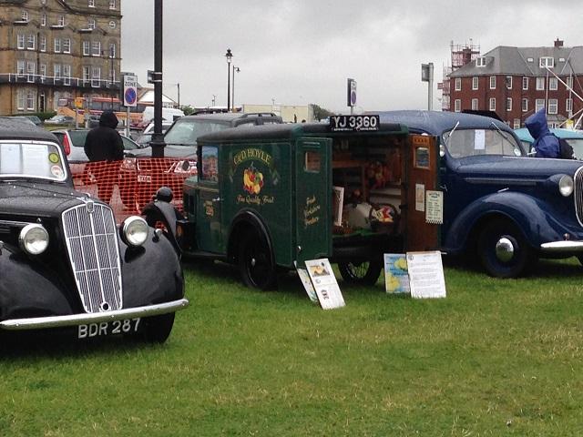 photo of vintage van