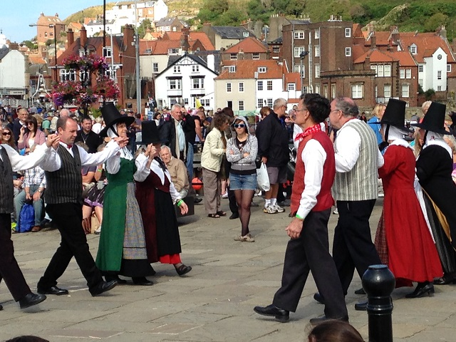 photo of Whitby Folk dancers