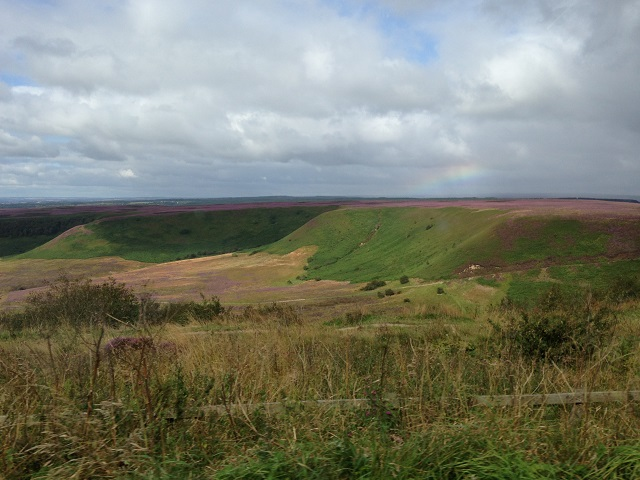 photo of the North Yorkshire Moors