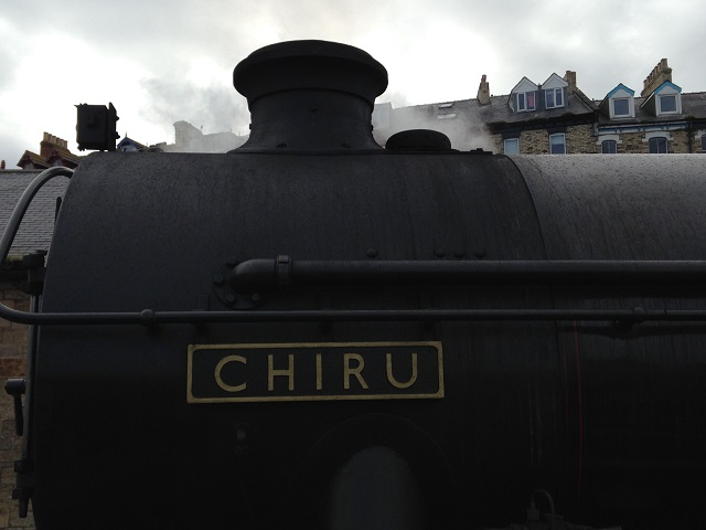 photo of the steam engine Chir