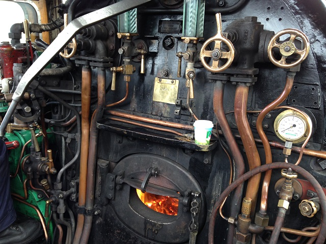 photo of the chiru footplate